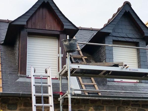 Rénovation de toiture par CKM Couverture dans le 35